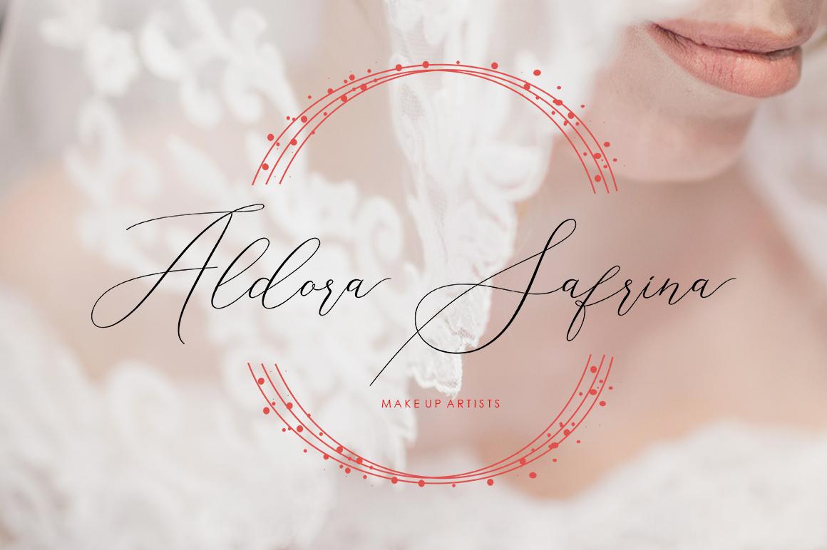 Elise Dafisa - Elegant Script Font example image 5