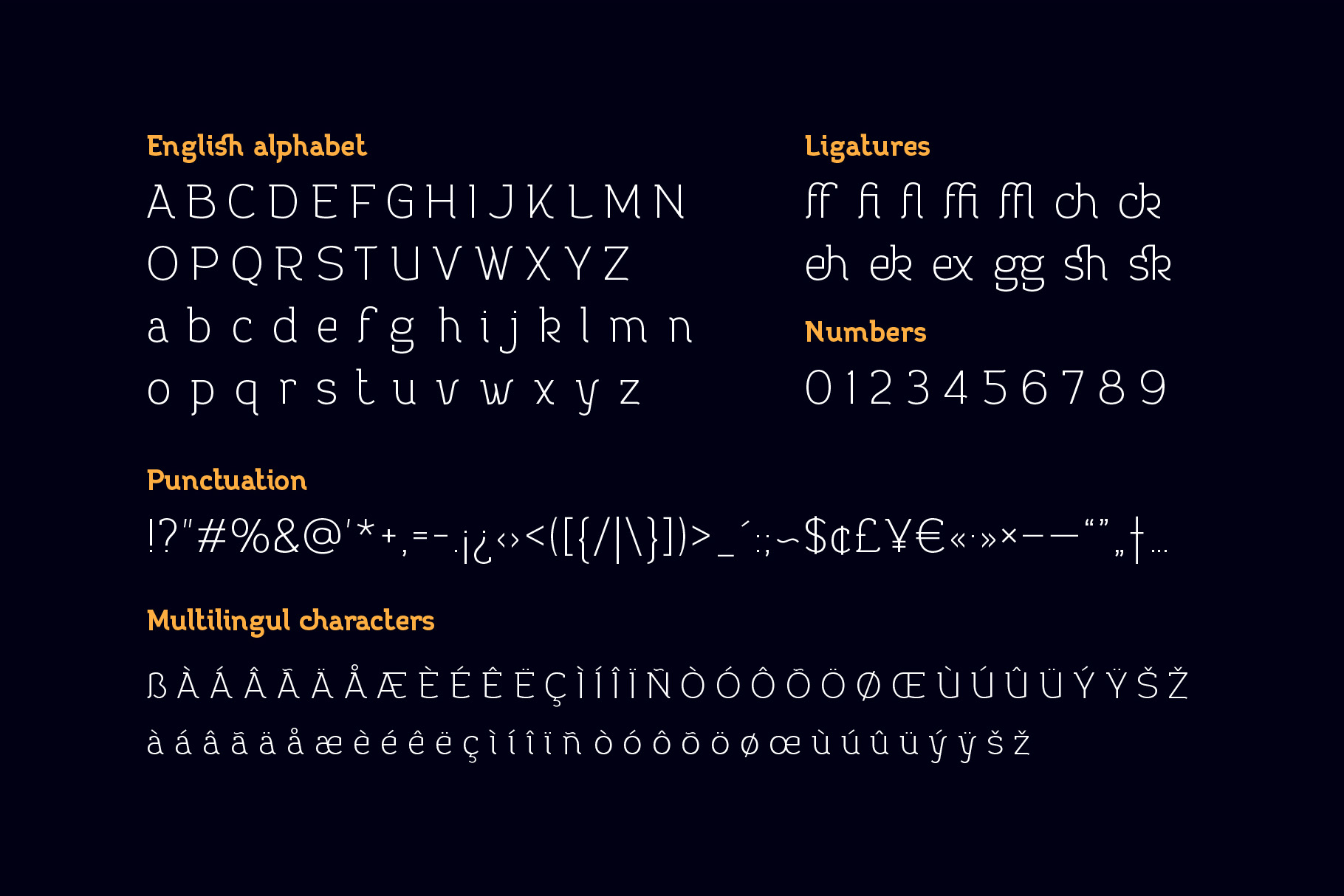 Practish font family example image 7