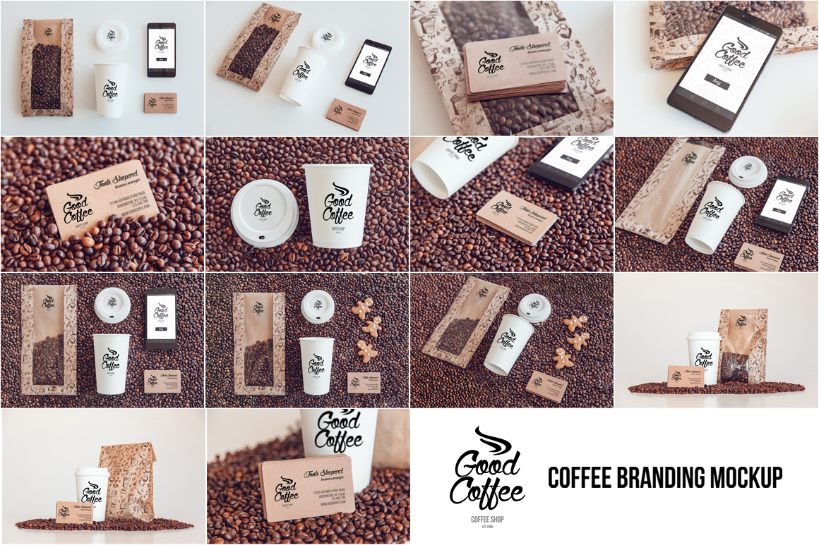 Coffee Branding Mock-up example image 2