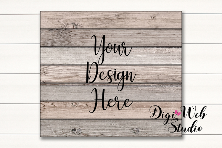 Wood Signs Mockup Bundle - 9 Piece Farmhouse Wood Signs 1 example image 3