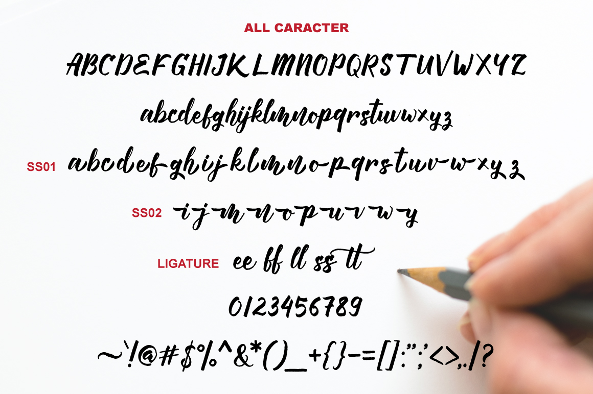 Manttes Typeface example image 8