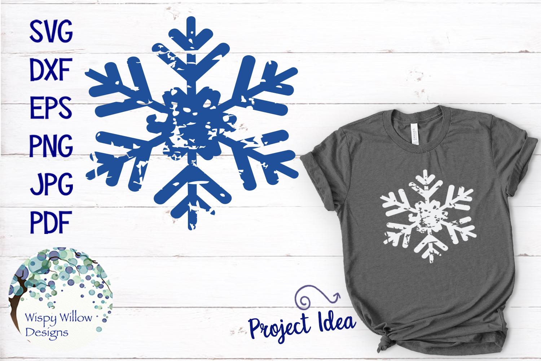 Distressed Grunge Winter SVG Bundle | Christmas SVG Bundle example image 11