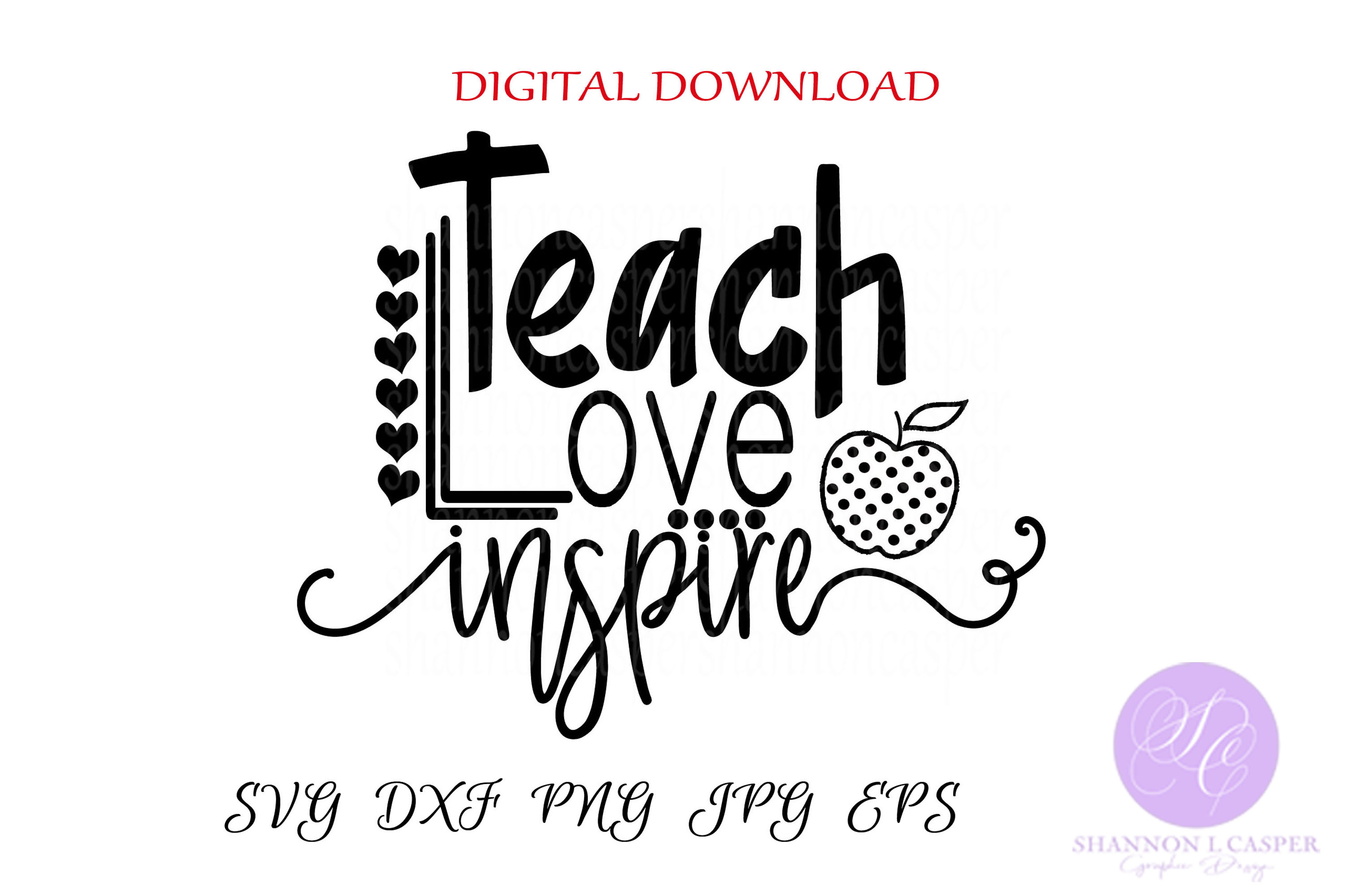 Teach Love Inspire example image 2