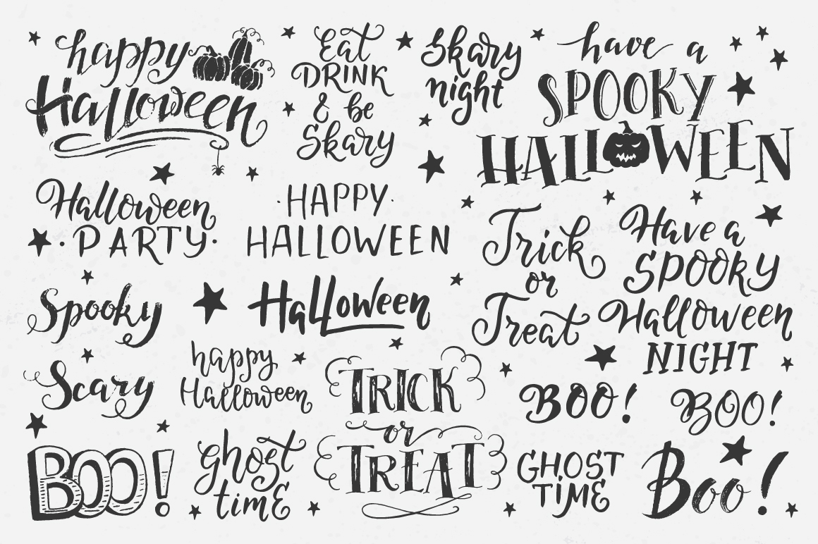 Halloween night Mega Pack! example image 3