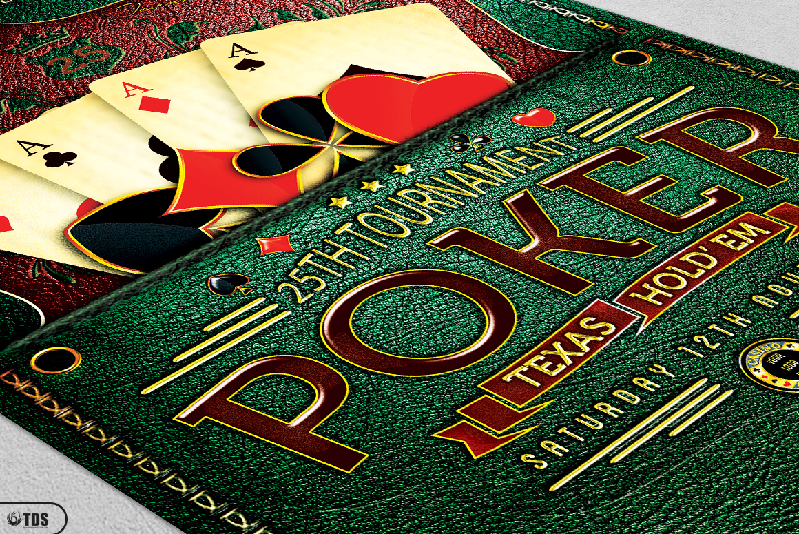 Poker and Casino Flyer Bundle example image 11