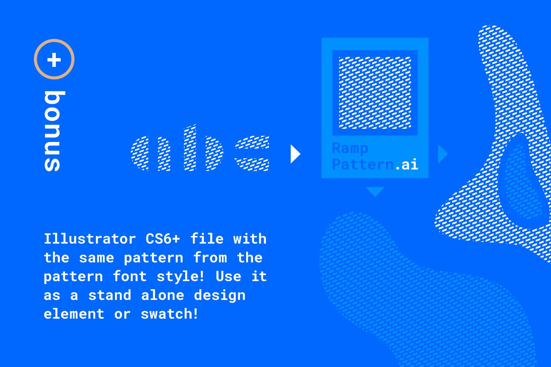 Ramp Display Font example image 5