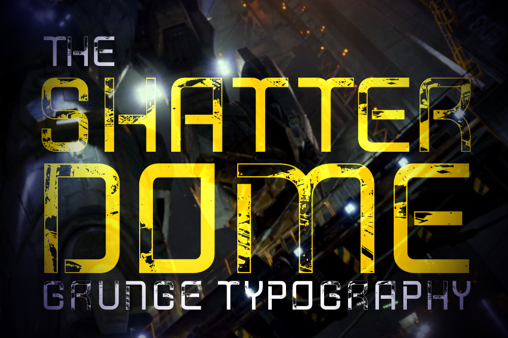 Shatterdome Grunge example image 1