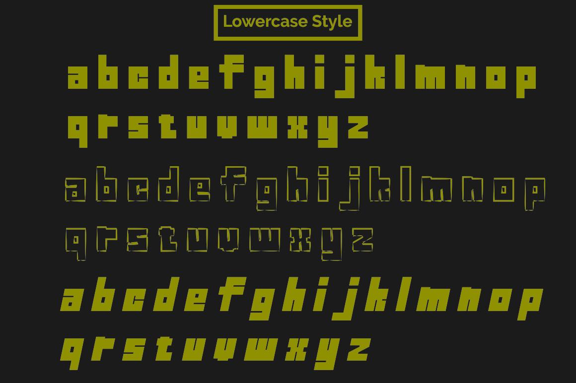 ROCKS Font example image 7