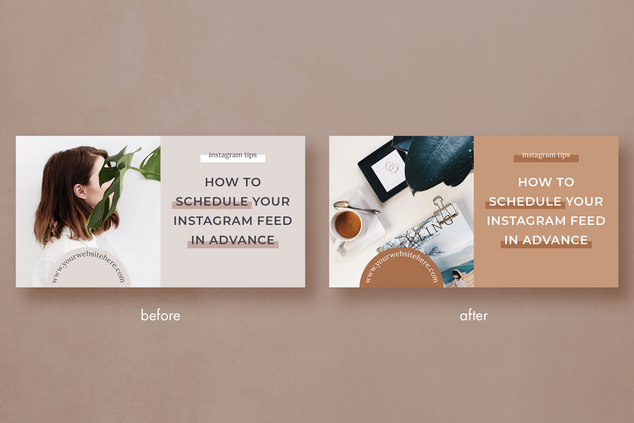 Blog banner & Facebook template pack example image 4