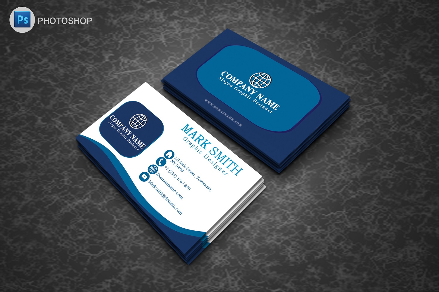 Modern Business Cards example image 3