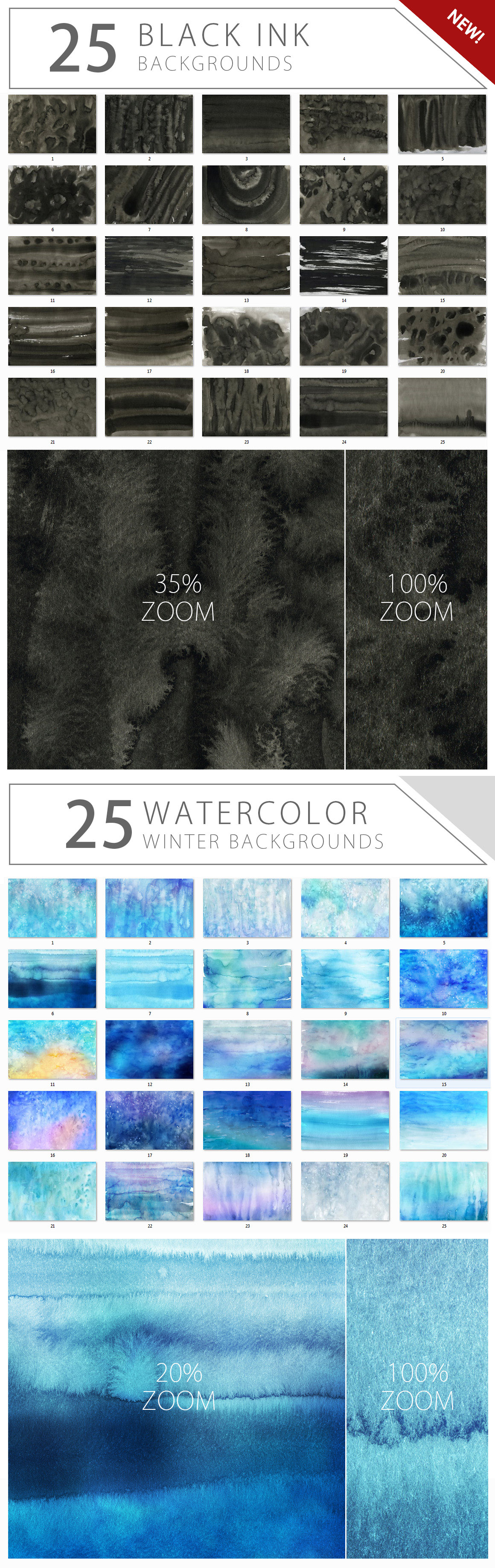 Supermassive Backgrounds Bundle example image 11