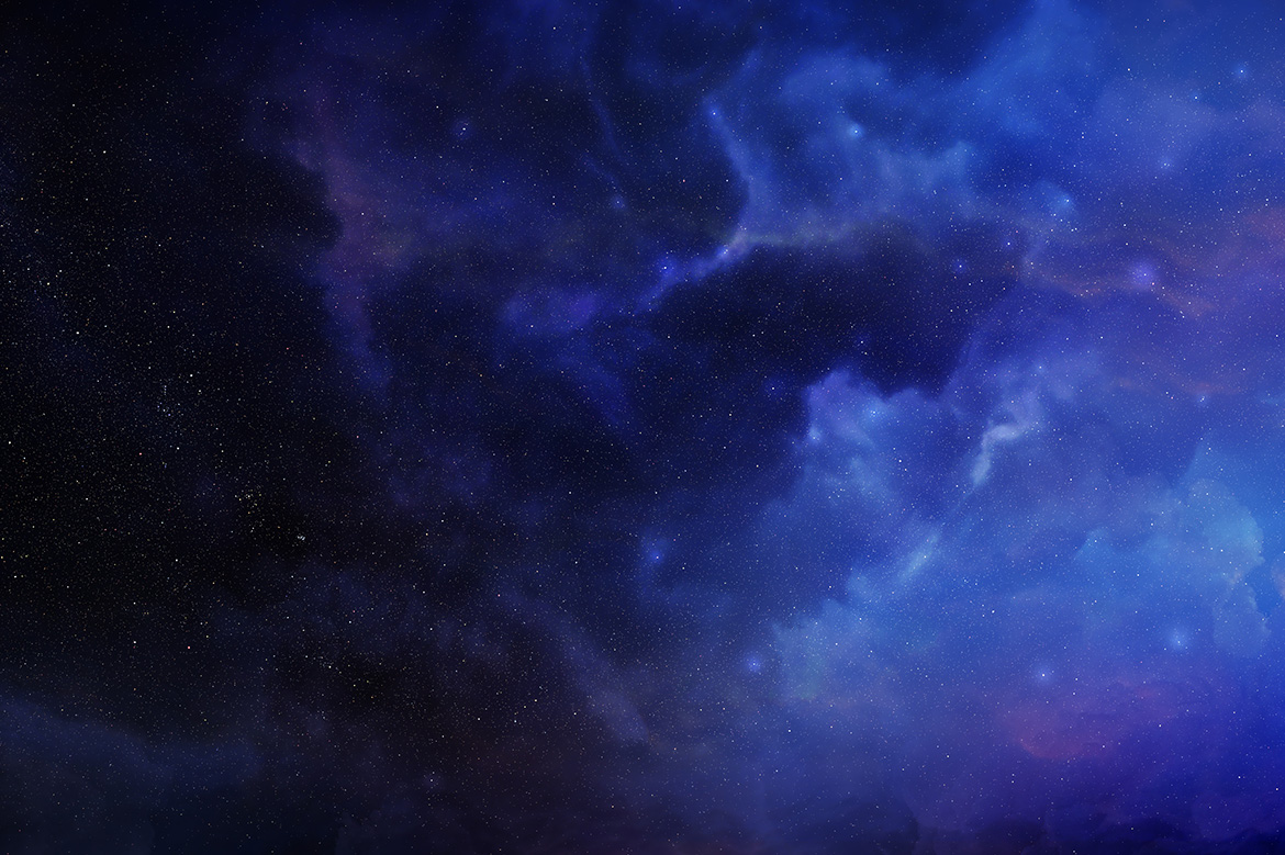 5 Realistic Nebula Backgrounds example image 5