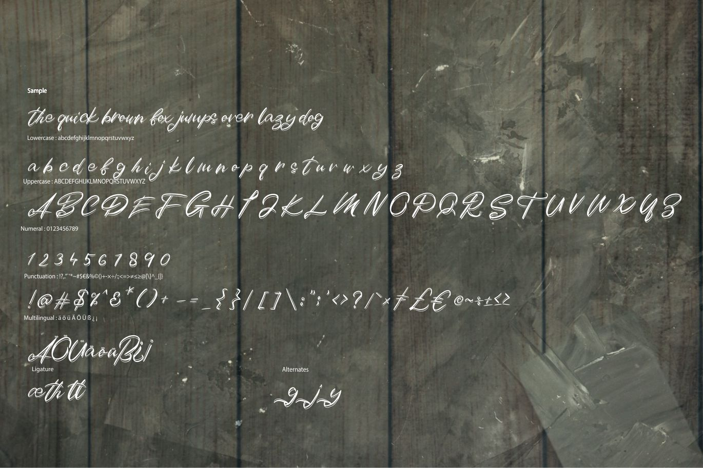 Duythy   Modern Art Font example image 6
