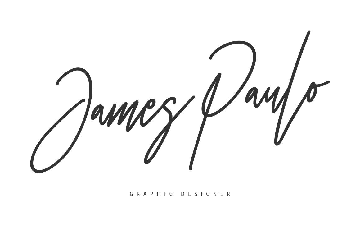 Otentic Signature Font example image 5