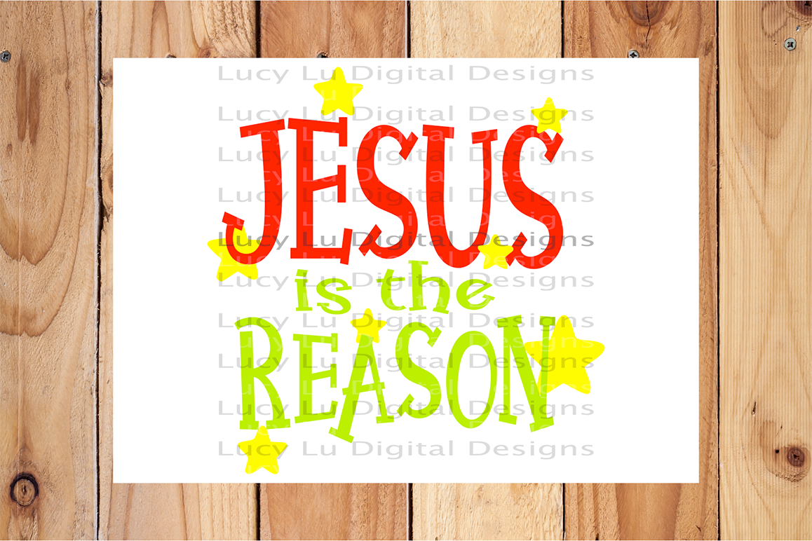 Jesus is the Reason example image 2