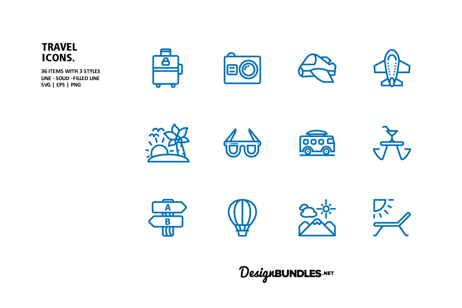 Travel Icons example image 3