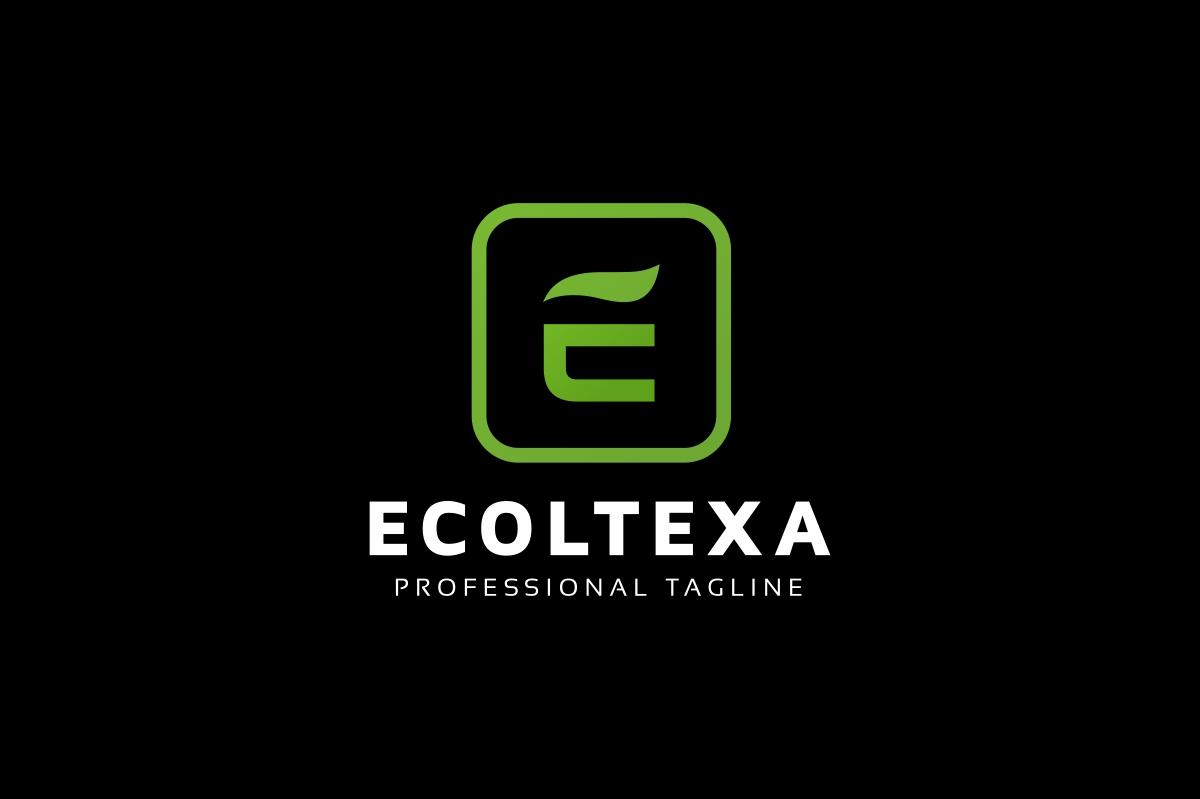 Ecoltexa E Letter Logo example image 2