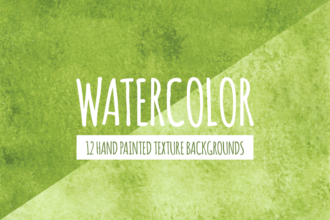 Green Watercolor Texture Backgrounds example image 1