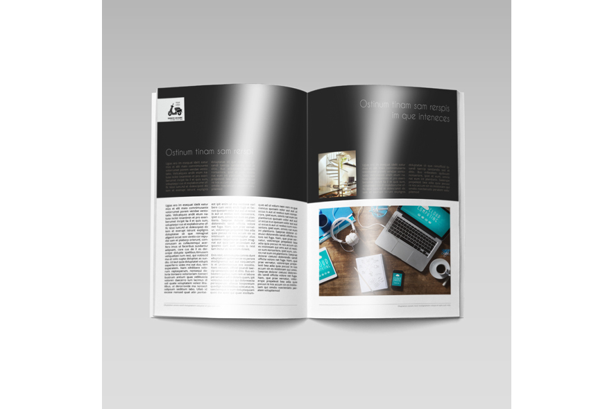 Business Magazine Template example image 5