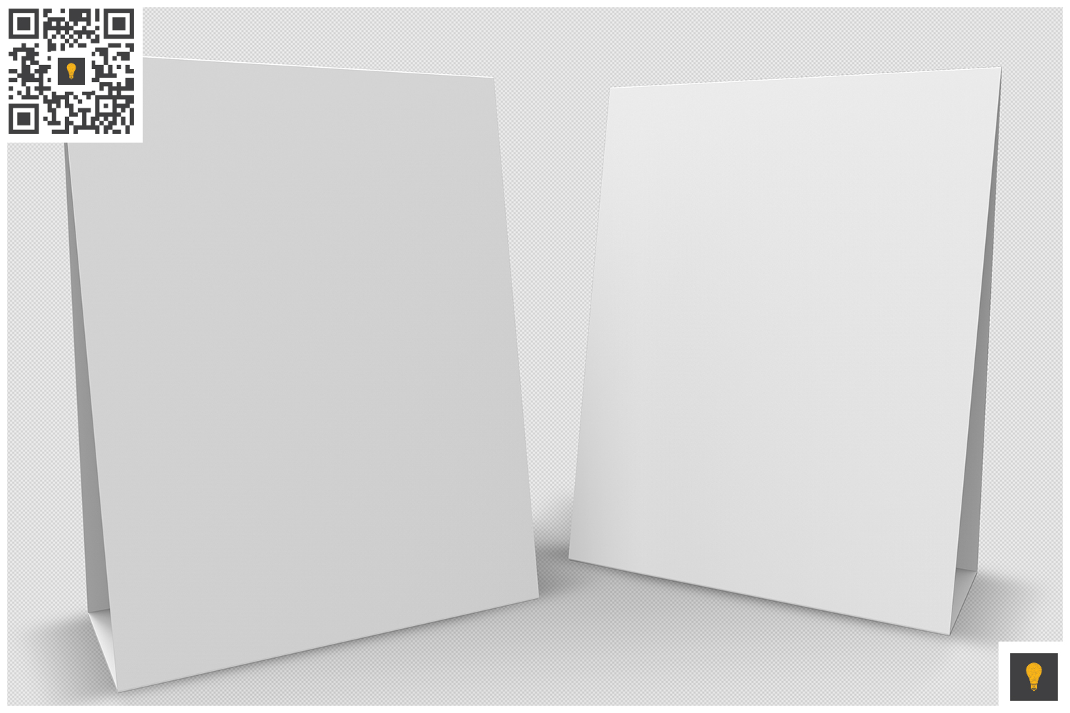 Table Tent 3D Render example image 5