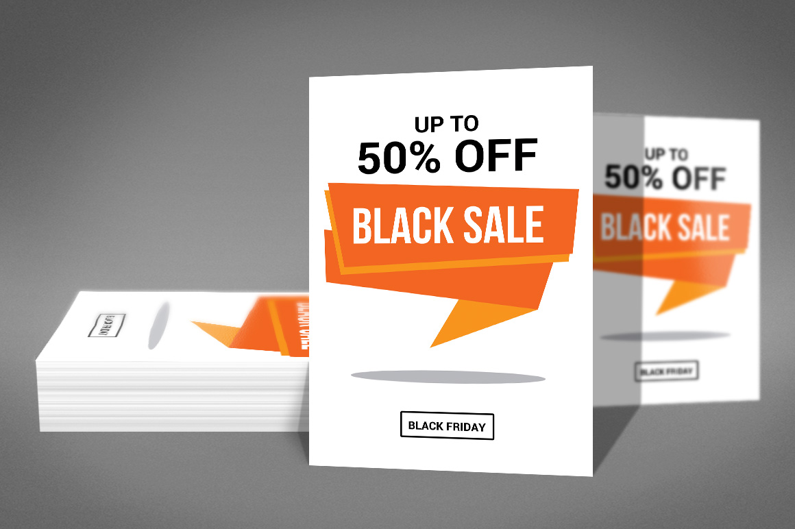 Black Friday Sale Flyer example image 3