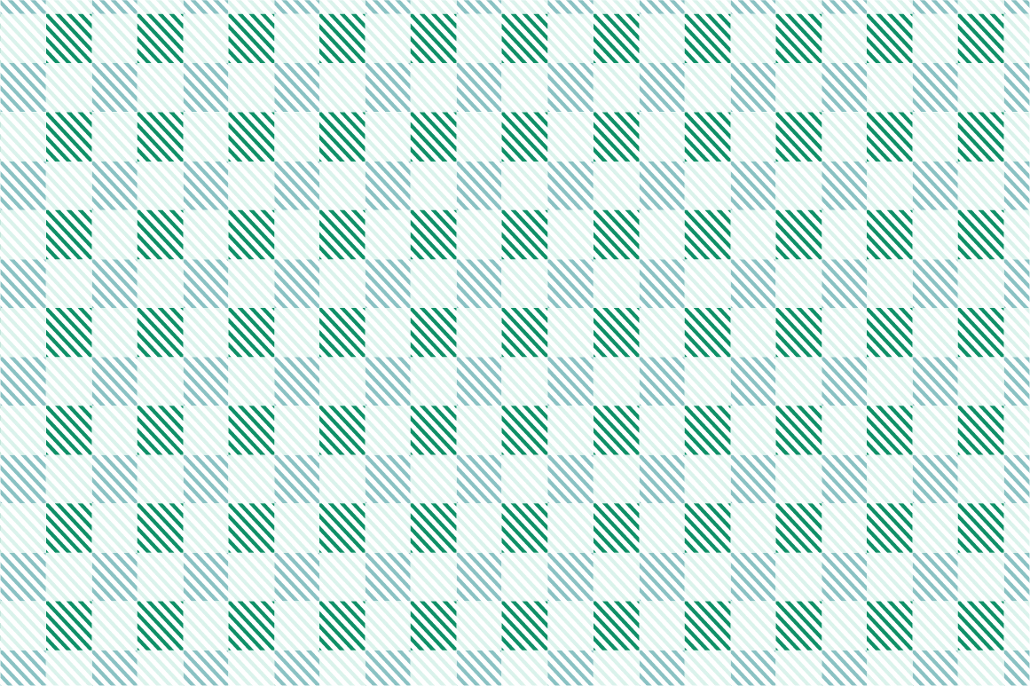 Green Textile Seamless Patterns. example image 9