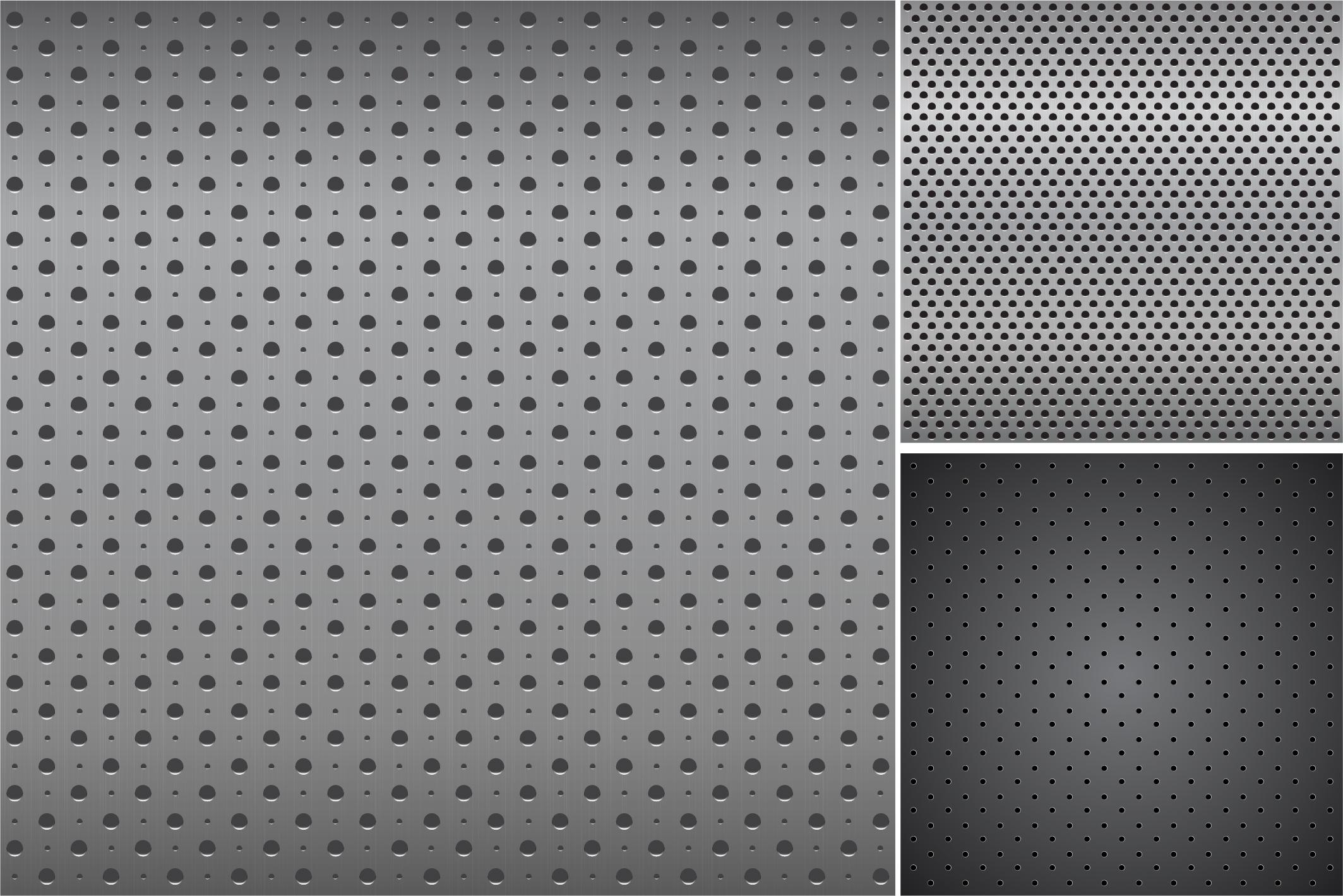 Metallic dark textures with holes. example image 9