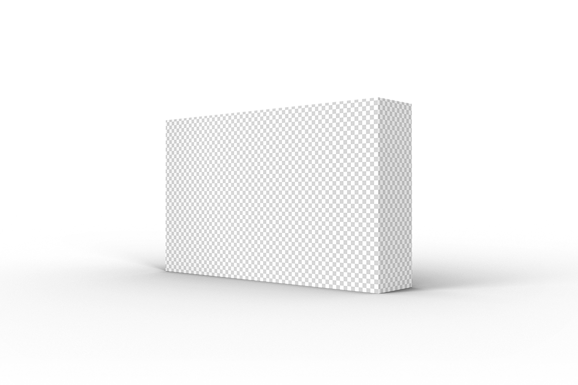 5.3.1 Simple 3D Box Mockup PSD example image 2