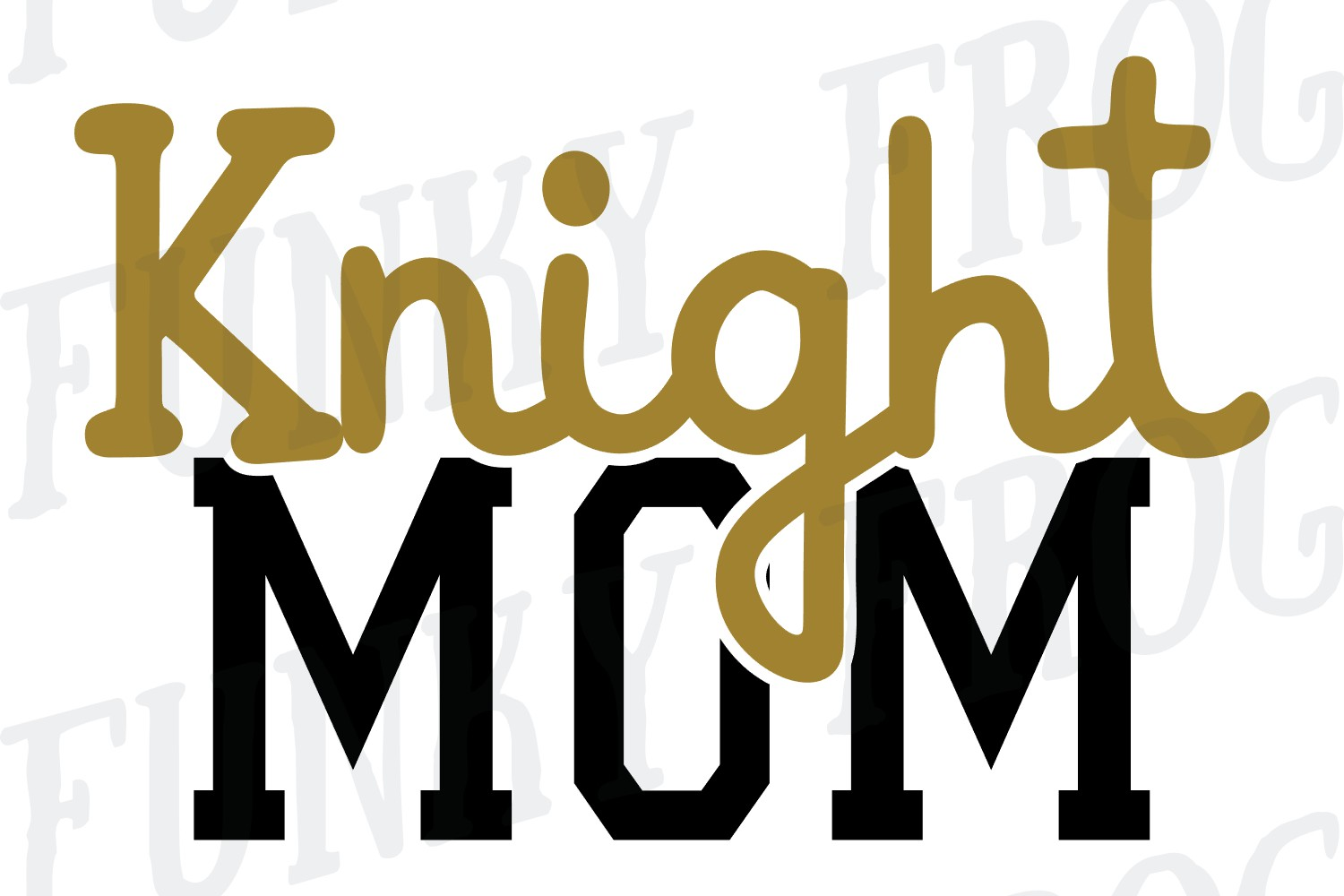 Knight Dad and Knight Mom SVG Cut File for Crafters example image 5