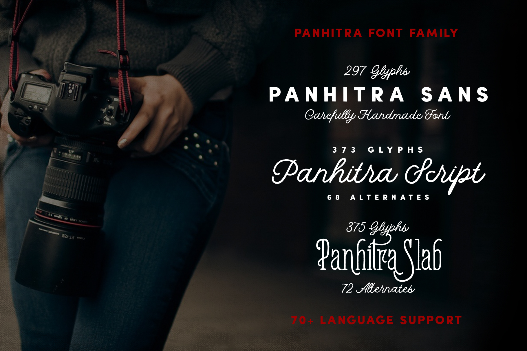 Panhitra Font Family example image 2