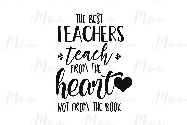 Teacher SVG Bundle. example image 28