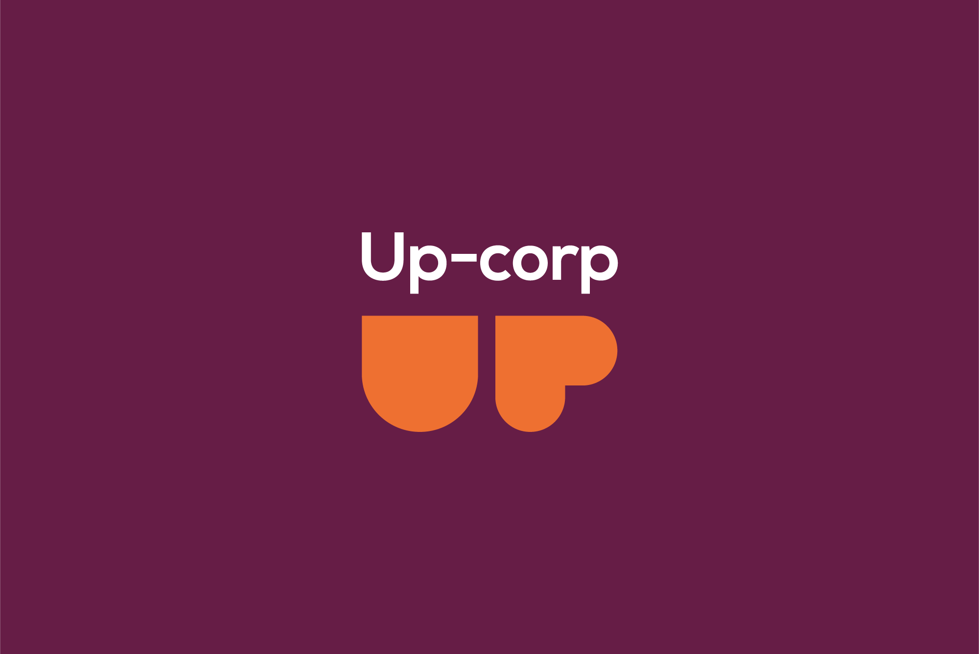 UP corp logo example image 2