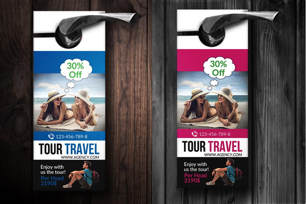 Holiday & Tour Door Hangers example image 2