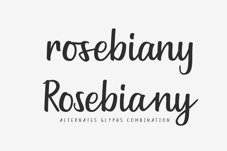 Goldiana - Font Script example image 5