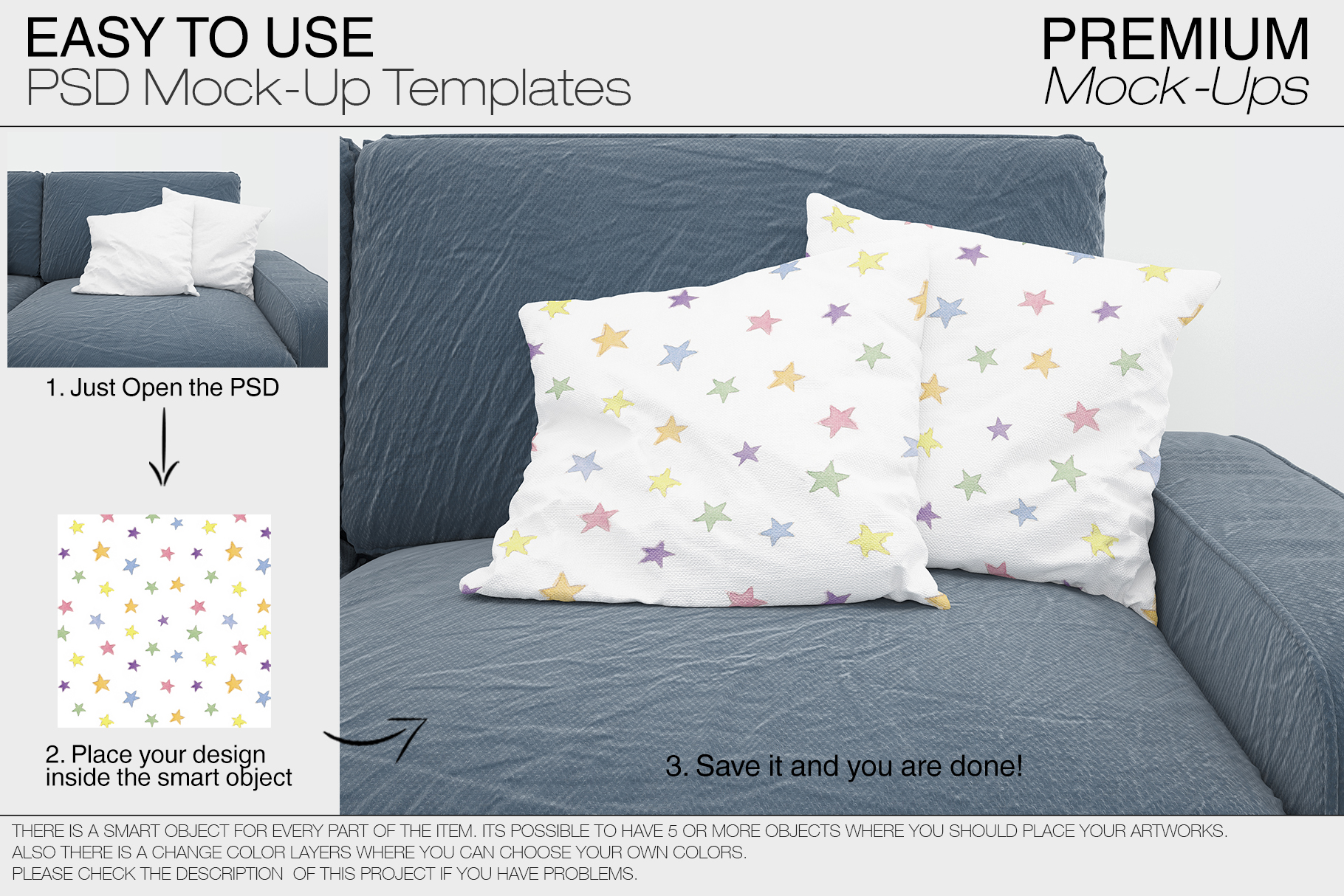 Pillow Mockups example image 6
