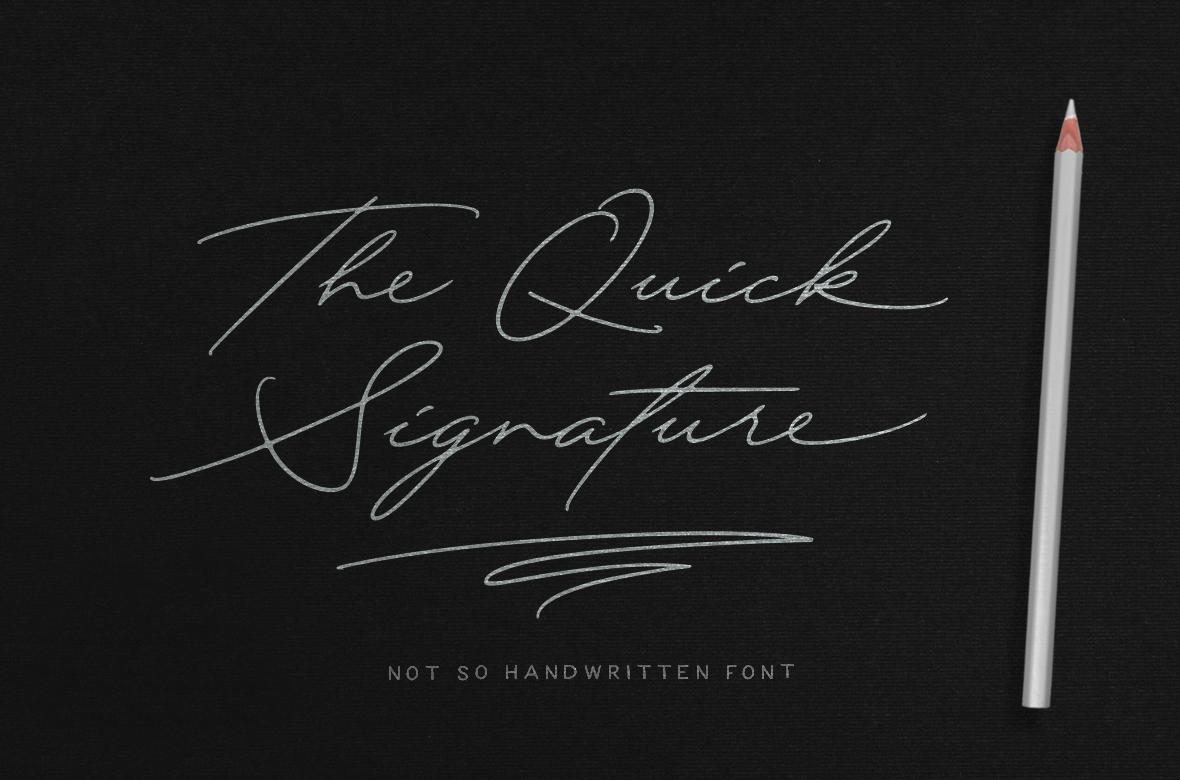 Quick Signature Pro example image 1