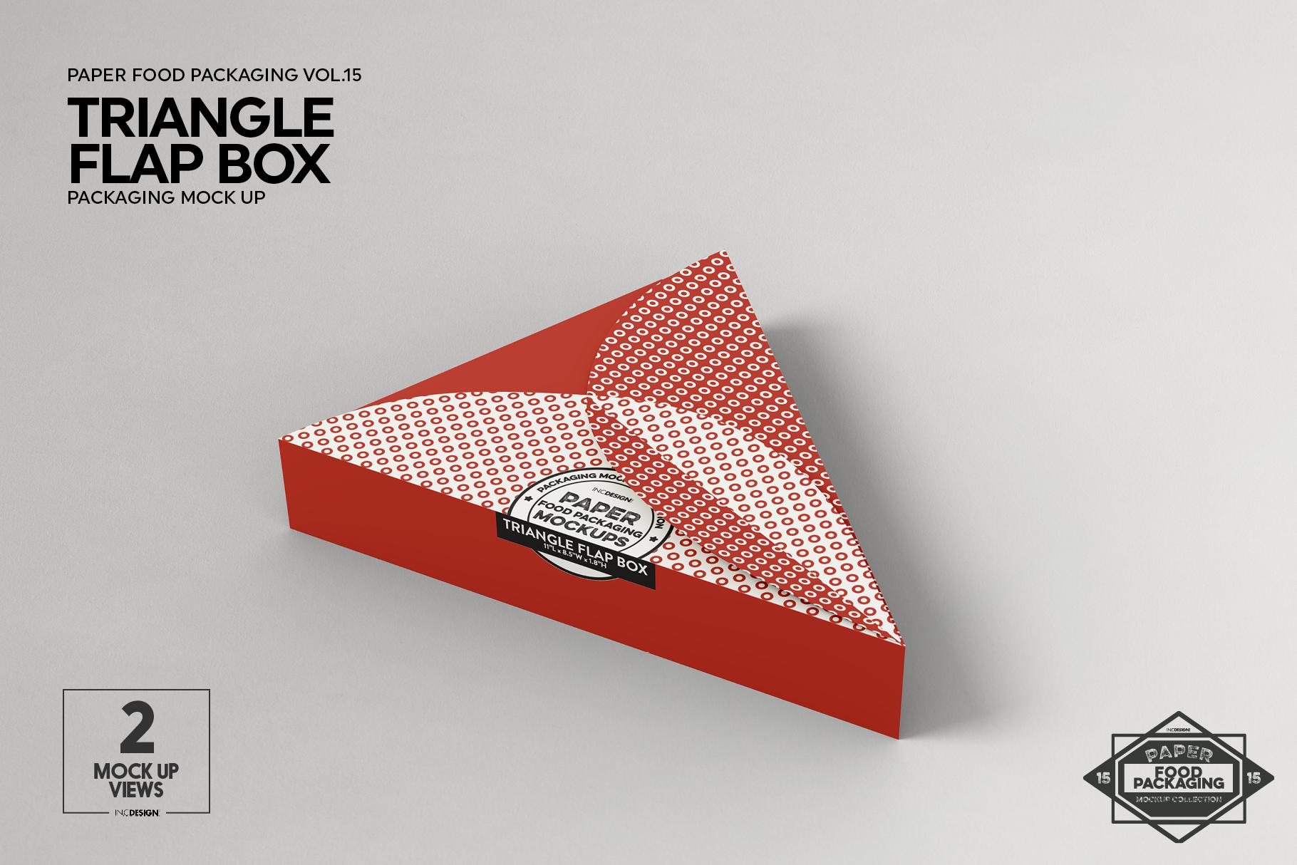 VOL.15 Food Box Packaging MockUps example image 11