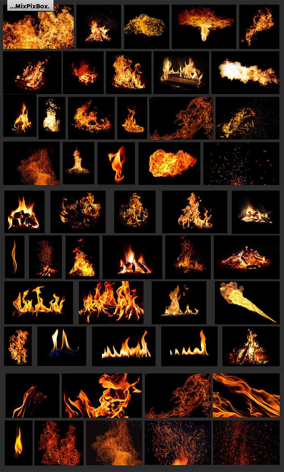 Fire Photo Overlays example image 4