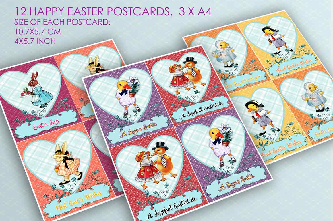 24 Easter Cards and Postcards example image 2