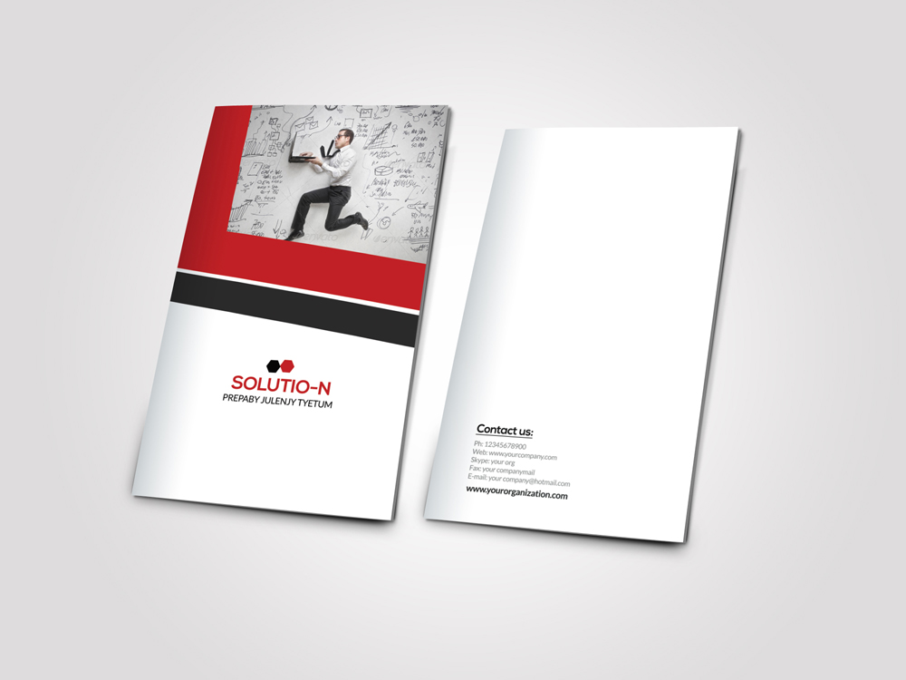 Business Innovation Bifold Brochure example image 3