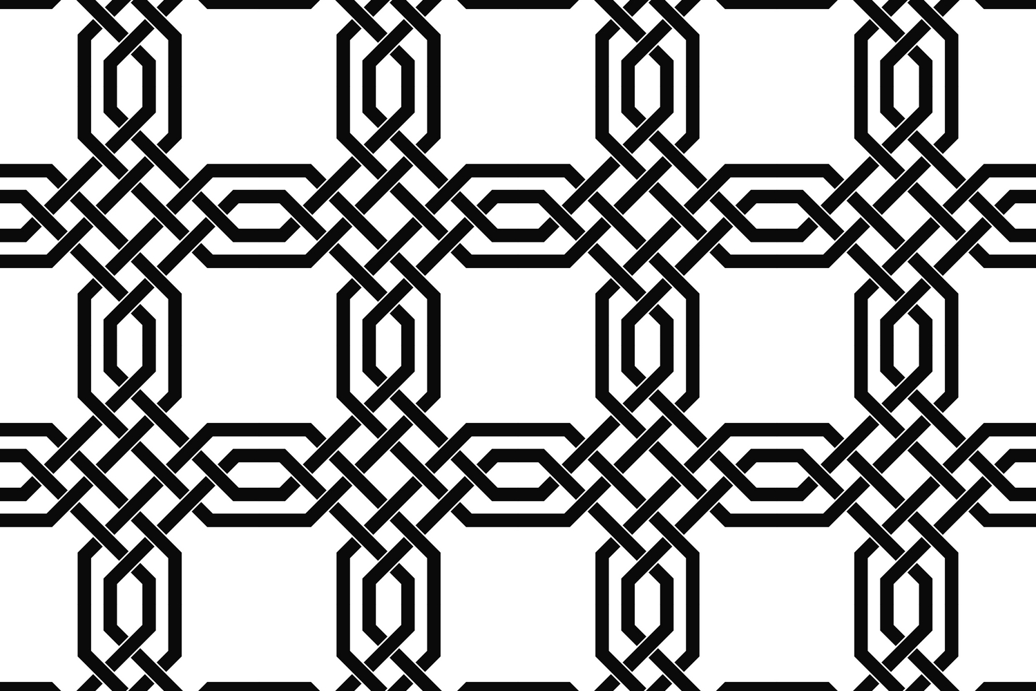 75 Monochrome Geometrical Patterns AI, EPS, JPG 5000x5000 example image 11