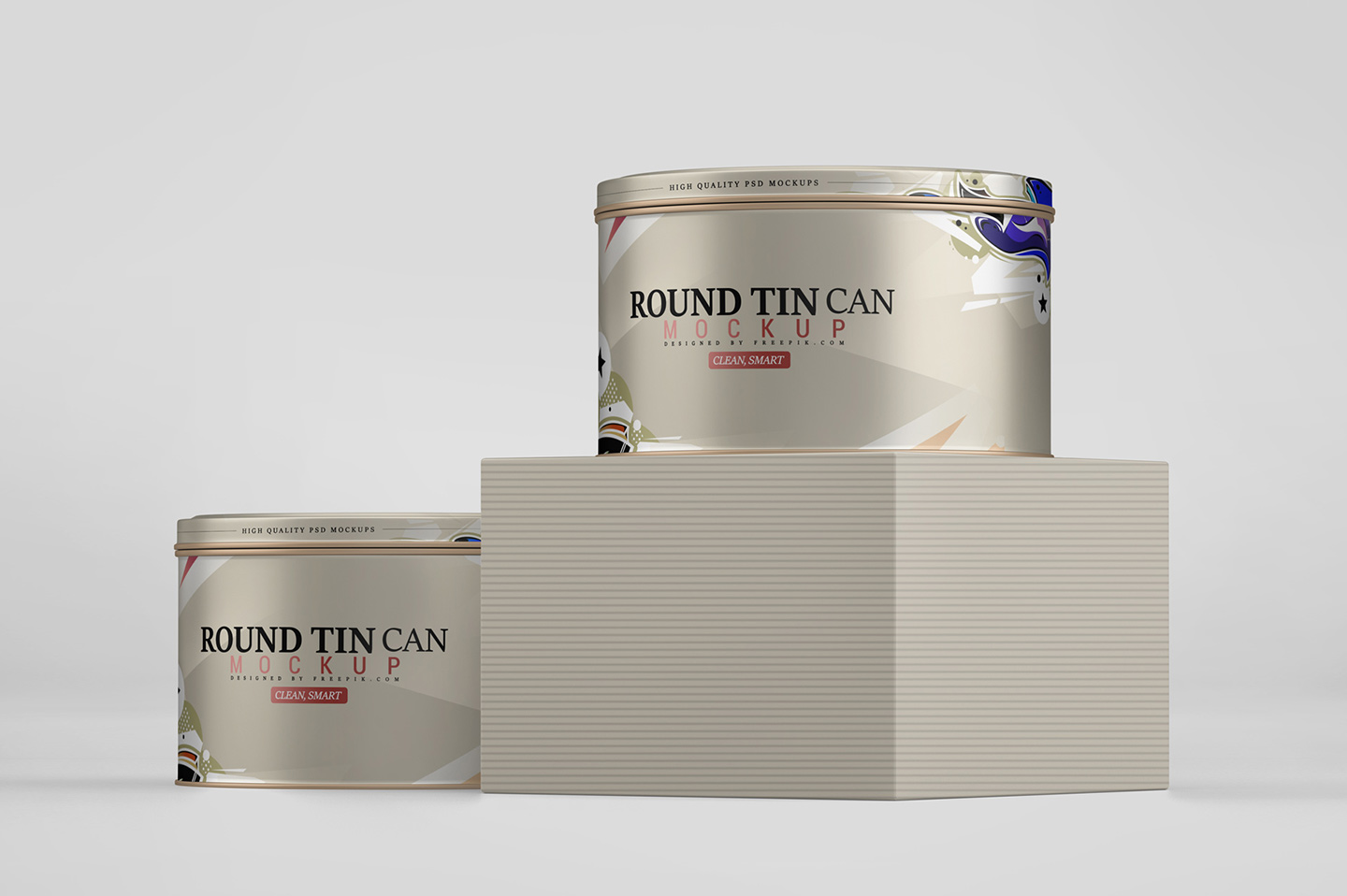 Round Tin Can Mockup example image 11