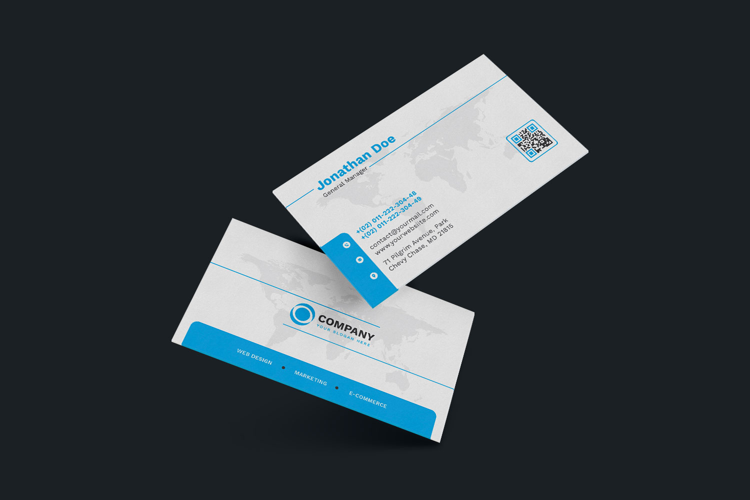120 Business Card Bundle example image 2