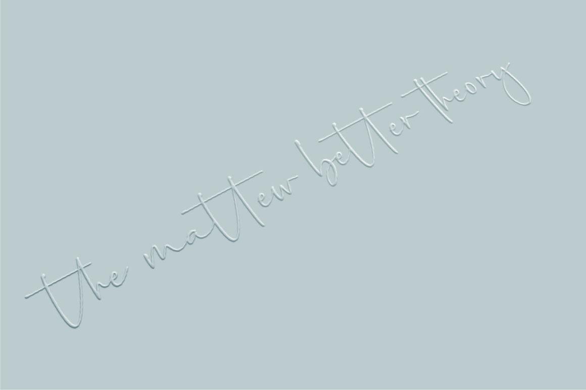 Palmaton - Handwritten font example image 4