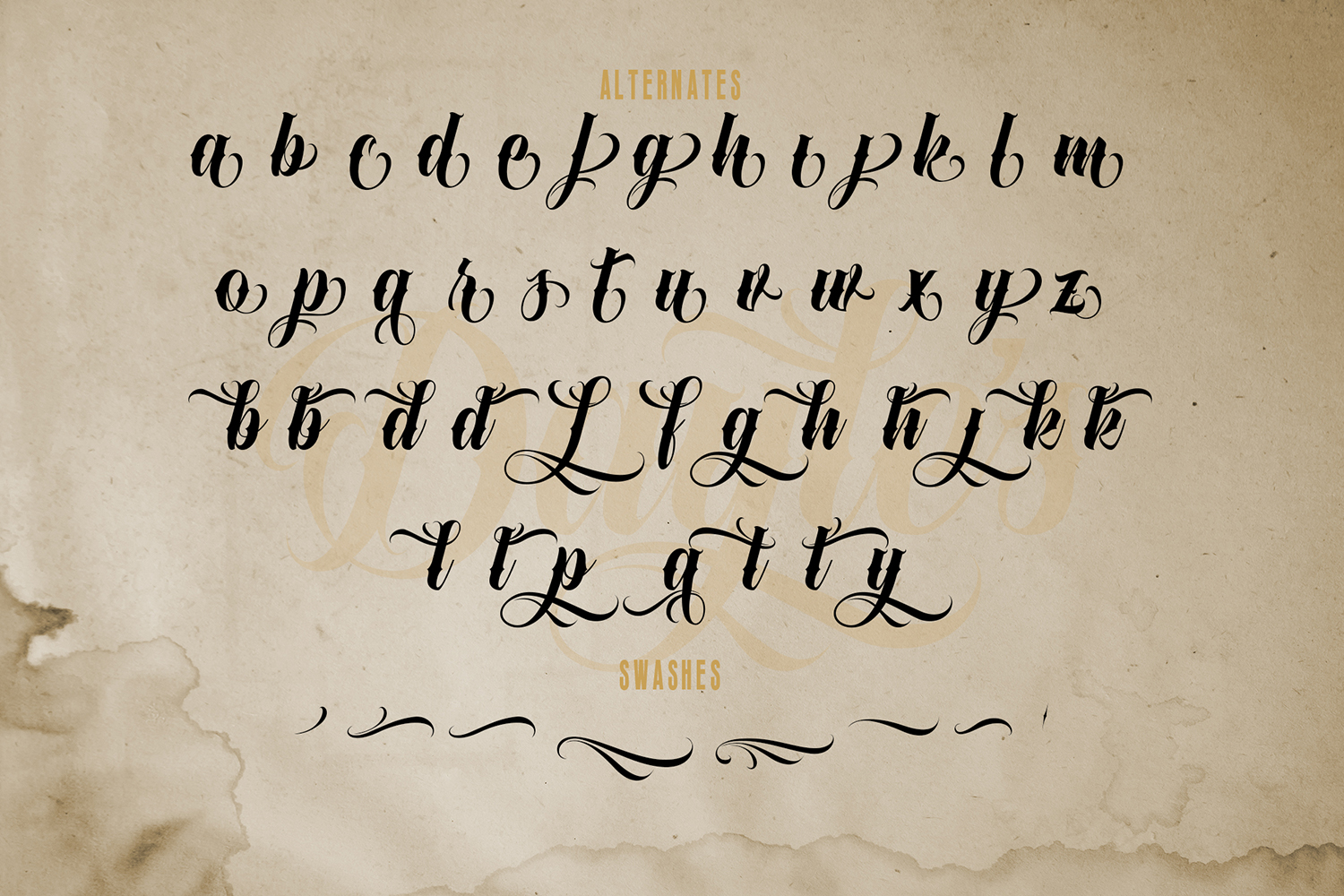 Dayles Script Fonts example image 8