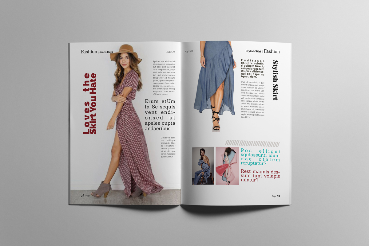 Magazine layout design example image 20