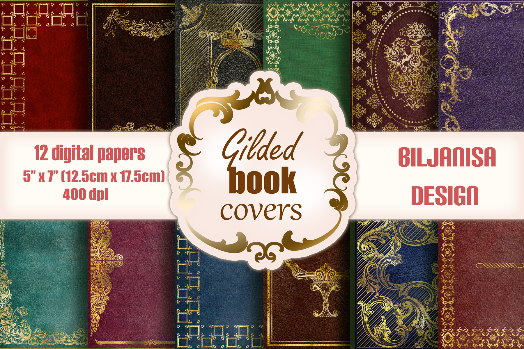 Gilded Book Covers example image 1