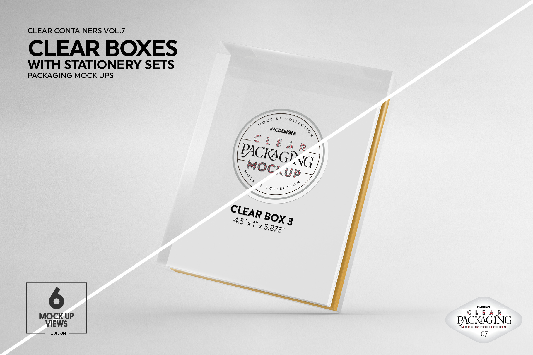 VOL.7 Clear Packaging Mockup Collection example image 18