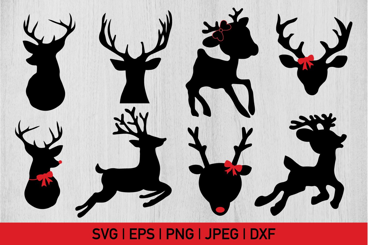 Christmas Reindeer Bundle example image 1