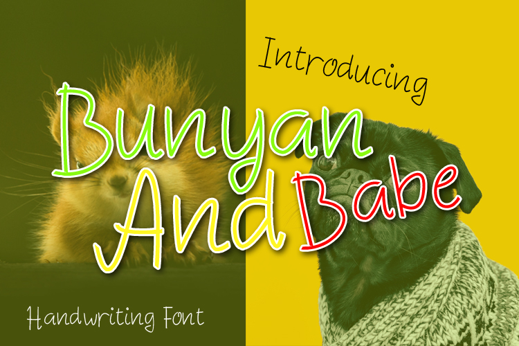 Bunyan And Babe - Funny Font example image 1